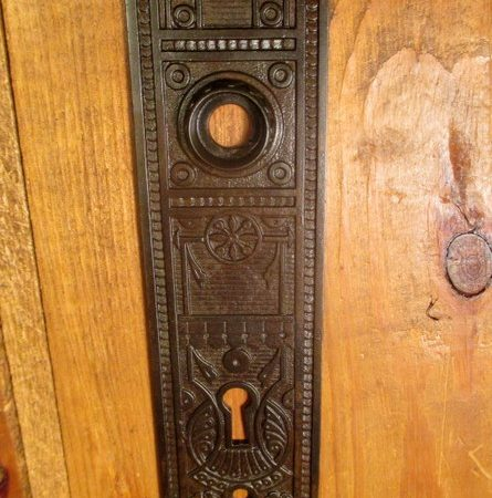 Iron Door Plate Norwalk