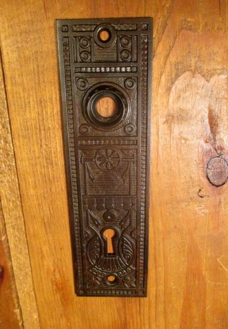 Iron Door Plate Norwalk