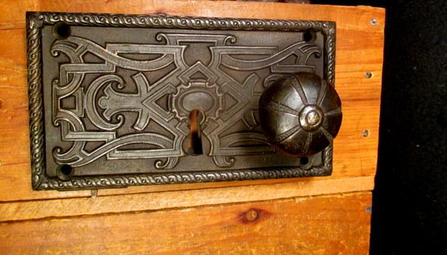 Bronze Rim Lock Sargent Hardware