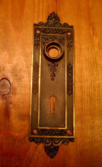 Bronze Interior Door Plate