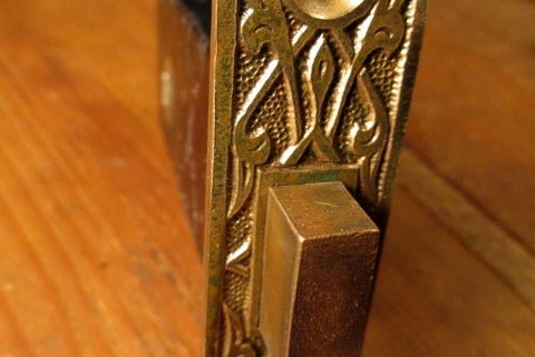 Bronze Dead Bolt Door Latch