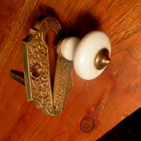 Brass Bell Pull Lever