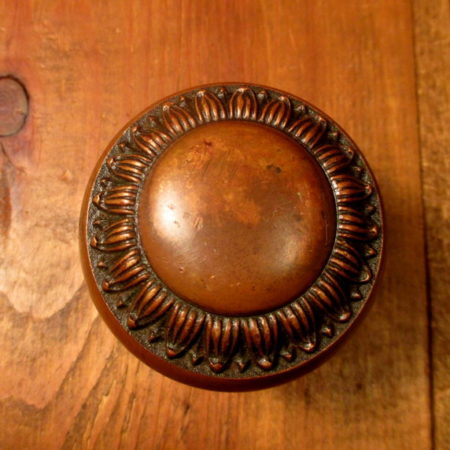Cast Bronze Door Knob