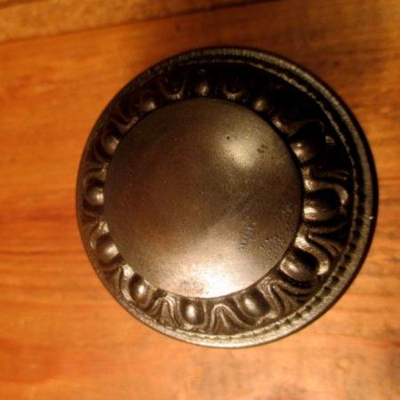 Iron Door Knob Egg & Dart