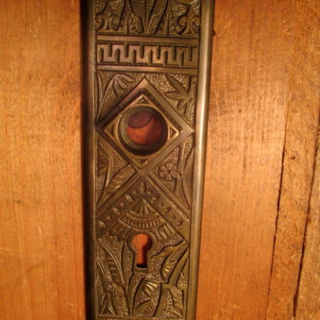 Cast Bronze Interior Door Plate