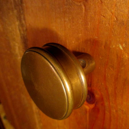 Small Bronze Door Knob