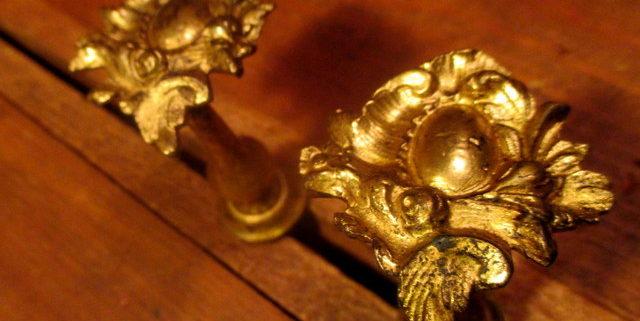 Brass Period Tie Backs