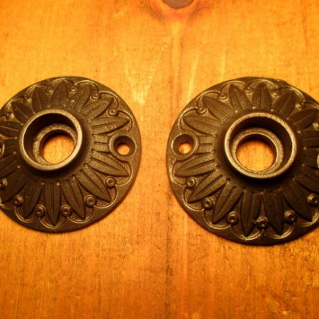 Cast Iron Rosette Door Hardware