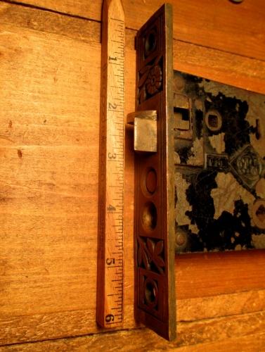 Exterior door mortise lock hardware classic home hardware - Home hardware exterior door handles ...
