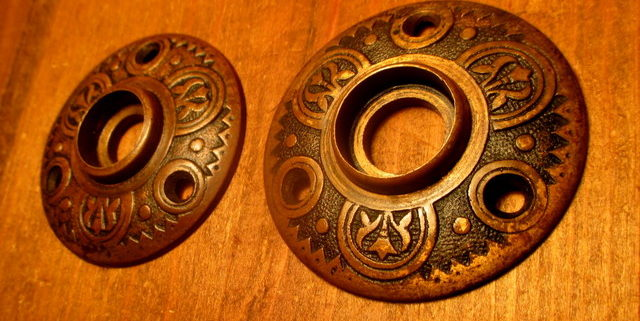 Brass Door Knob Rosette