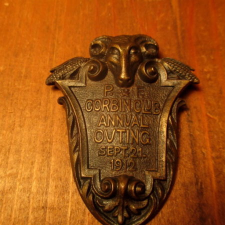 Bronze P&F Corbin Club Company Pin