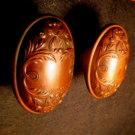 Oval Bronze Door Knobs