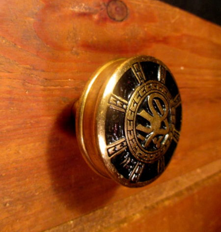 Bronze Arabic Door Knob