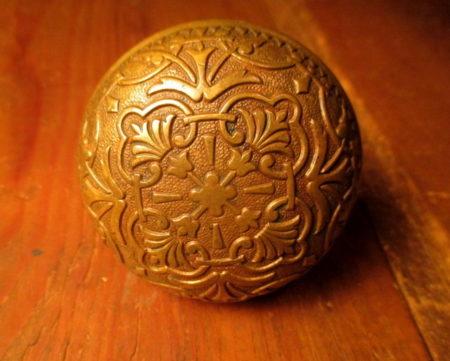 Bronze Door Knob Mallory & Wheeler