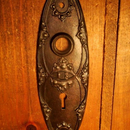 Iron Interior Door Plate Norwalk