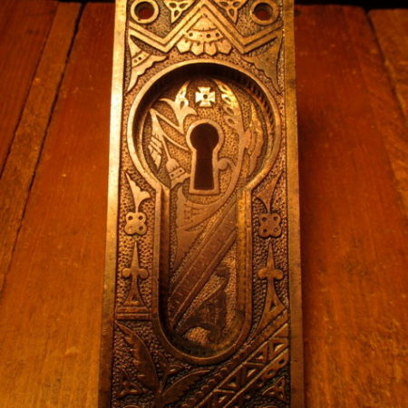 Bronze Pocket Door Pull Branford