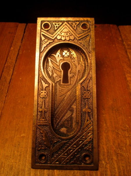 Bronze Pocket Door Pull Branford