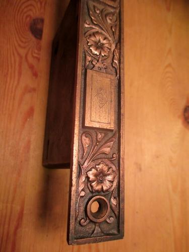 Bronze Entry Mortise Door Lock Re 989 Classic Home Hardware