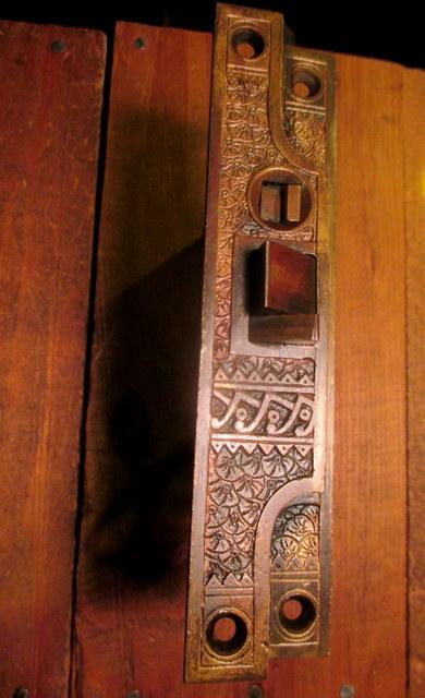 Bronze Exterior Mortise Door Lock