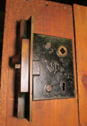 Bronze Corbin Entry Mortise Door Lock Bc 117 Classic