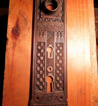 Corbin Entry Door Plate Brocade