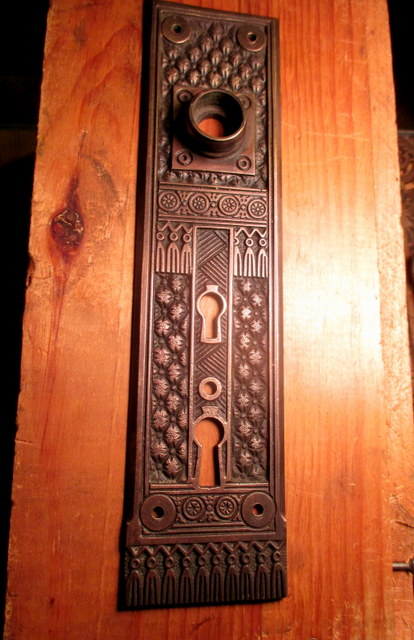 Corbin Entry Door Plate Brocade