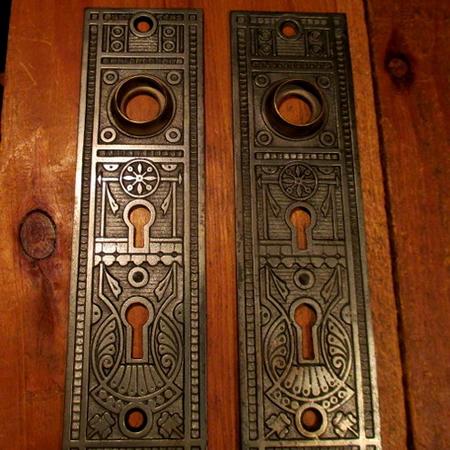 Exterior Bronze Door Plates