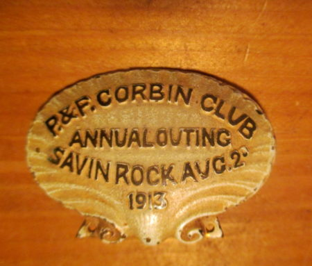 Corbin Outing Pin 1913