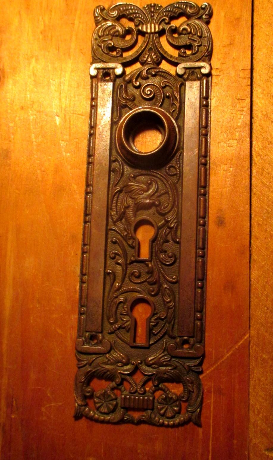 Bronze Exterior Door Plate Penn Hardware Penn 101 Classic Home