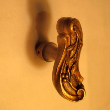 French Brass Door Handle Hardware