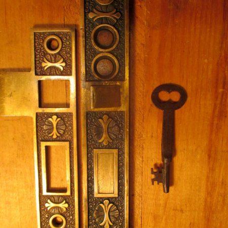 Entry Mortise Locks Ornate & Plain