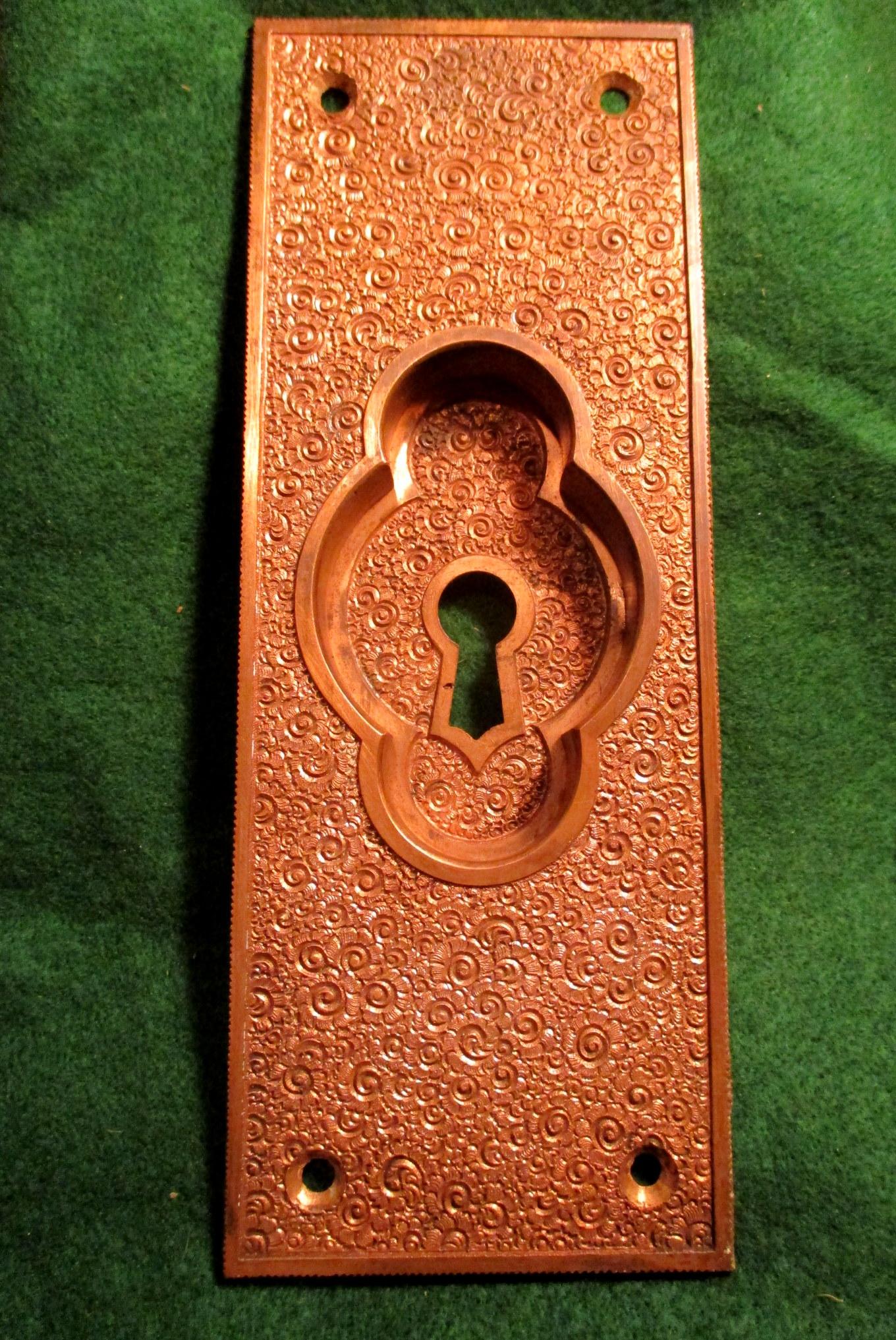 Picture of: R E Damascene Bronze Pocket Door Pull R E Damascene 302 Classic Home Hardware