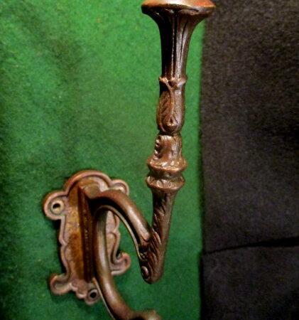 Hall Tree Antique Brass Hook  Hall Tree Hardware Restoration Hardware 3 Available